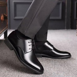Men Genuine Leather Shoes Wedding Bride For Formal Party Dress OEM Italian Man Shoe Large Size Casual Soft