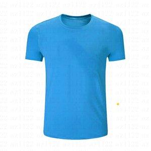 240-Hommes Wonen Kids Tennis Shirts Sportswear Entraînement Polyester en marche Blanc Blue Blu Gris Jersesy S-XXL Vêtements de plein air