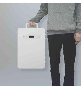 20L Car Home Use Mini Refrigerator Cooler Warmer Dual-use Fridge Box Temperature Control 12V 220V Dormitory