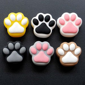 Cat Paw Silicone Container 3ML Non-stick Jars Smoking Containers Dab Case For Vaporizer Wax Oil Small Box
