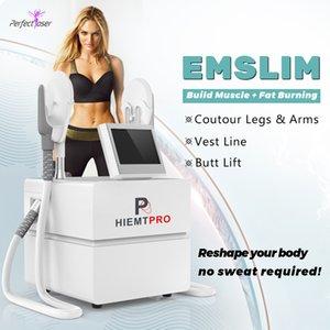 Portable emslim hiemt slim equipment slimming machine for salons new promotion motherboard update 30% increase in energy