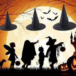 Party Hats Witch Hat Halloween Oxford Cloth For Women Costume Girl Props Fashion Magic