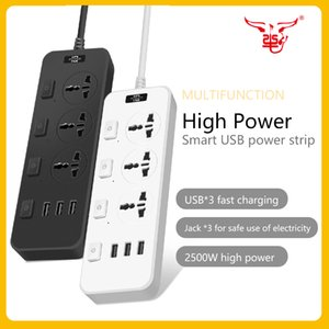 OS-T14 high-power smart socket USB multi-function indoor outdoor home office safe reliable power strip Produced by European and American quality standards