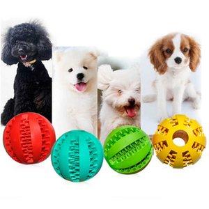 Gummi Kauen Ball Hund Spielzeug Training Spielzeug Zahnbürste Kauen Lebensmittel Kugeln Haustier Produkt Drop Ship