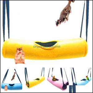 Small Animal Supplies Home & Gardensoft Warm Tunnel Hamster House Pet Slee Play Cage Hanging Swing Hammock Drop Delivery 2021 Zdqm6
