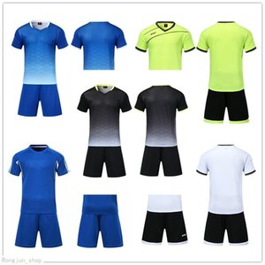 2021 Soccer jersey Sets smooth Royal Blue football sweat absorbing and breathable children's training suit 001 43919