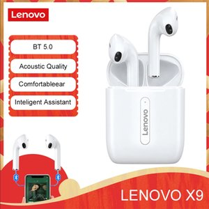 Оригинальные Lenovo X9 TWS Беспроводные наушники Bluetooth для наушников для наушников на наушниках для наушников для наушников с микрофоном для Android / iOS