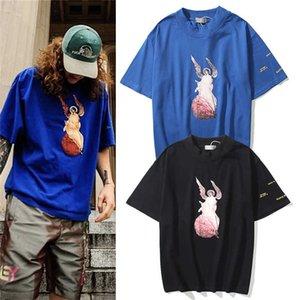 Neue Männer Designer T-shirts Kanye Jesus ist King King King-Sleeved T-Shirt Tops Jesus Christus Angel High Street Shirt T Shirts