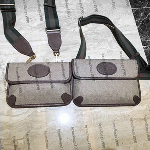 Luxury Designers Chest Pack Genuine Leather Marmont Waist Bags Bumbag Bag Fanny Packs Running Belt Jogging Pouch Back Purse Fashion Real cowskin handbag