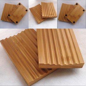 Натуральная бамбуковая мыльная посудона для мыла SOAL Держатель для хранения мыла стойки пластинчатая коробка контейнер для ванной для душа ванная комната 253 J2