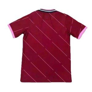 2021 2022 Jersey de fútbol 21 22 Jerseys de camisa de fútbol de club Modificar uniforme en blanco