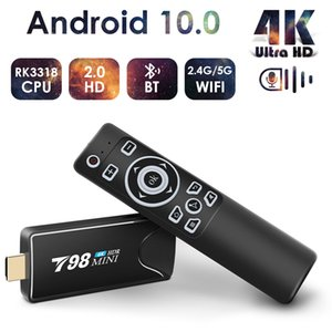Mini Android Tv Stick Box Android 10 4K Wifi Media Player TV Receiver Set Top Box Android 10