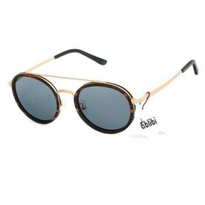 ABLIBI мужская ретро круглый орех орех красный сандалии древесина леннона солнцезащитные очки поляризованные старинные очки для мужчин женщин