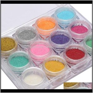 Laser Mixed Powder Sequins Shinning Colorful Flakes 3D Diy Charm Dust For Art Decorations Wndr2 Sqfdc