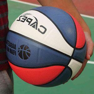 No. 7 hygroscopic basketball cement ground wear-resistant adult training outdoor Street 7 non slip student flower black