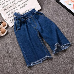 Summer Clothing Boy Girl Baby Children Kids Loose Jeans Trousers Good Quality Comfortable Clothes Cowboy Denim Pants
