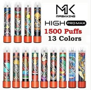 Masking Yüksek Pro Max Tek Kullanımlık E-Sigaralar Vapes 1500 Puffs 4.5ml Kartuş Pods 850mAh Pil Elektronik Sigara Vape Bang XXL