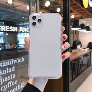 TPU Frosted Color Soft Phone Cases For iPhone 11 12 Pro X XR XS Max 7 8 plus Back Bump Protective Cover