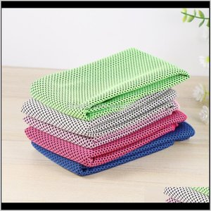 Er-Ups Swimming Equipment & Outdoors Drop Delivery 2021 5Pcs Quick Dry Fitness Microfiber Cooling Towel Sports Supplies For Running Camping Y