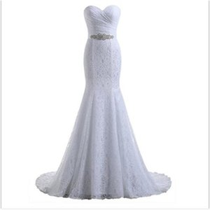 Lace Dress 2021 mermaid Bridal Gown sweether Wedding Dresses White Vestido De Noiva