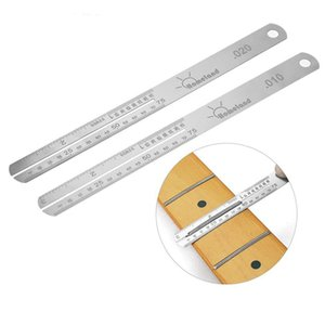 Guitar Fretboard Protector Fret Puller Stainless Steel Nut Luthier Repair Tools Replacement 0.010 0.020 0.080 0.125 Inch