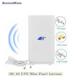 High Gain 4G LTE Antenna Dual Mimo Long Range Network Antenna for WiFi Router Mobile Broadband Hotspot Amplifier