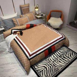 Постельные принадлежности King Size Sets Machine Peashbing Дизайнер Хлопковое стеганое одеяло Крышка Подушки для одежды Подушки для одежды Крышки Утешителя