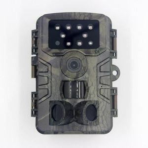 Webcams Camera de Caça ao Ar Livre PO Trap 20 MP 1080P Wildlife Trail Night Vision Thermal Imager Video Câmeras para Scouting Game
