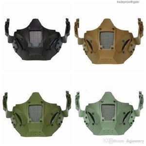 Winter Airsoft New Mascara Bike Men Outdoor Balaclava Mask Ma-95 Tactical Iron Warrior Half Face Mod
