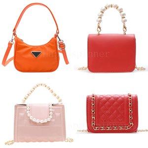 Girls Handbags Armpit Letter Shoulder Messenger Casual Portable Mini Fashion Women Canvas PU Bag