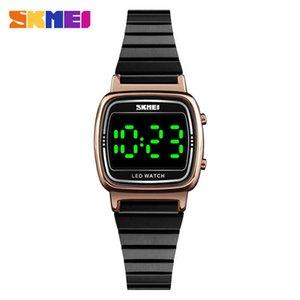 Time beauty skmei exquisite fashion simple green luminous women's LED electronic watch