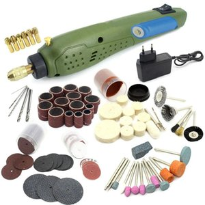 Профессиональные буровые биты Mini Power Rotary Tool Electric + шлифовальные аксессуары набор для гравировальной машины Dremel Cit-EU