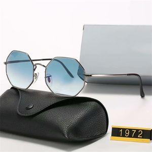 2021 Luxury top quality sunglasses for men women Universal classic fashion hexagon frame summer sun glasses designer wholesale high qualit