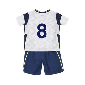 Kids Baby Clothes Training Soccer jersey uniform Survetement 20 21 home 2021 SON FOYTH WINKS football custom name number