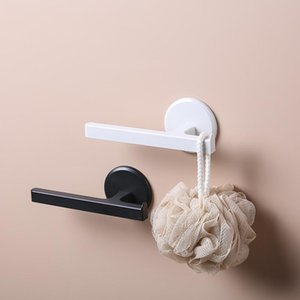 Towel Racks Seamless T-Type Wall-Mounted Rack Bathroom Punch-Free Rod Toilet Bath Rail Holder Clothes Hanging Bar Kitchen Items