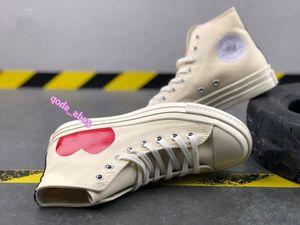 MENS Commes des Garcons Play Chuck 1970 Cavans Zapatillas de deporte para hombres '; S Tayler Zapatos Vulcanizados Hombre Skateboarding Womens Skate Mujer