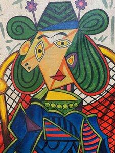 Pablo Picasso İspanyol Sanatçı Ev Dekor Handpainted HD Baskı Yağlıboya Duvar Sanatı Tuval Resimleri 201115