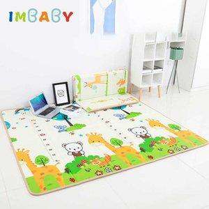 Imbaby Детские игры Carpet Kids Room Cat Baby Play Забор Коврик Двухместный Младенческий Ковер Baby Playmat Для Палатки Детская Игра Pad Sh190923