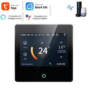 스마트 홈 컨트롤 Tuya WiFi Thermostat 온도 컨트롤러 워터 전기 바닥 가스 보일러 가열 용 큰 화면