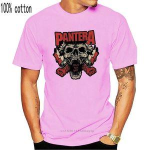 Pantera рта для войны Черная футболка новая взрослая металлическая полоса музыка высококачественная футболка