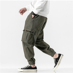 Pantaloni Fashion Luxury Plus Size Disculstring Caviglia Banded Pants Mens Casual Jogger Pantaloni da uomo Designer Designer Cargo