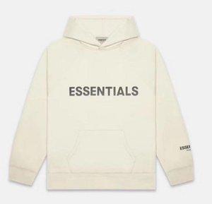 Vêtements d'hiver chauds pour hommes Sweatshirts Hommes Femmes Hoodies Essentials Lettres réfléchissantes