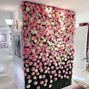 Pcs Fake Artificial Silk Rose Heads Flower Buds DIY Bouquet Home Wedding Craft Decor Supplies HEE889 Decorative Flowers & Wreaths