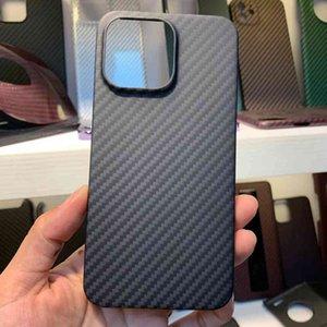 Qadir - carbon fiber case for 13 Pro max, open lens protector, ultra-thin, aramid, 13 13