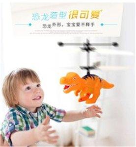 Dinosaurier Modell Hubschrauber Sensor Flying Fernbedienung Flugzeug Kinder Kinder Licht Spielzeug Weihnachtsgeschenke
