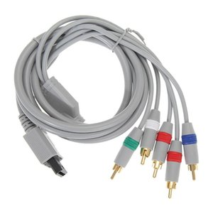 1080P Component Cable HDTV Audio Video AV 5RCA Support 1080i   720p system for Nintendo Wii Game