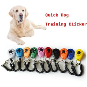 Essential Dog Train Clicker Pet Training Device Quick Dogs Exercise Playing Clickers with Wrist Strap for Animal Pets Puppy Cats Trainer Supplies XZB2060