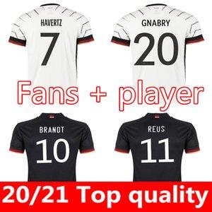 Almanya Futbol Forması 2022 2021 Hayranları Oyuncu Versiyonu Hummels Kroos Gnabry Werner Draxler Reus Muller Gotze Avrupa Kupası Futbol Gömlek Üniforma Erkekler + Çocuklar Kiti
