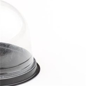 100pcs=50sets Clear Plastic Favor Container Cupcake Dome Gift Cake Box Wedding Favors Boxes Supplies 400 S2 FFY0