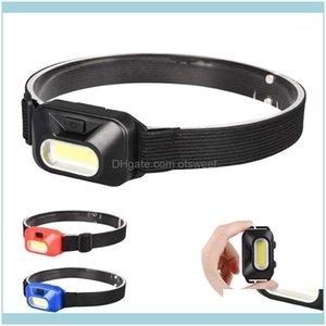 Headlamps And Hiking Sports & Outdoorsmini Cob Led Headlamp Hoofdlamp Headlight Frontal For Outdoor Camping Fishing Head Light Lamp Torch La